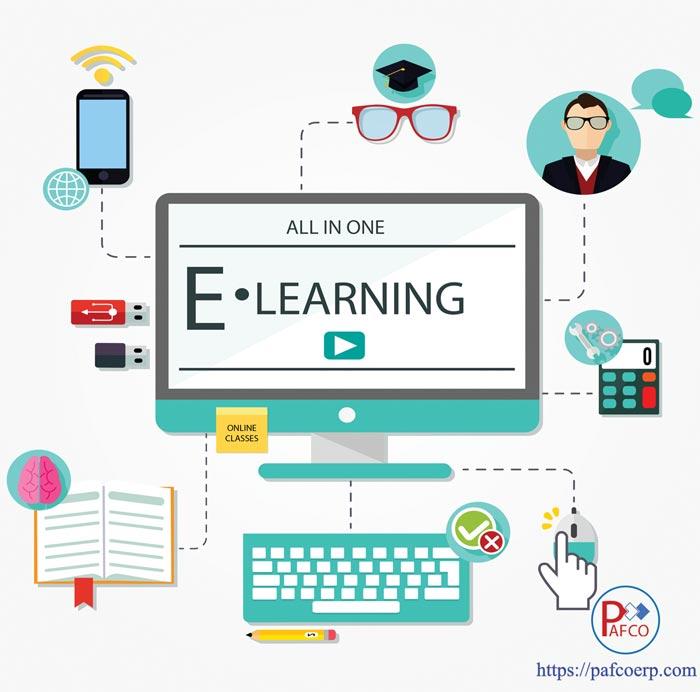 سیستم آموزش الکترونیکی lms
